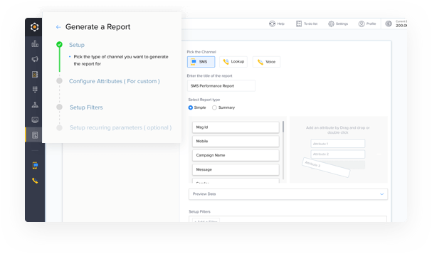 Customize Reports