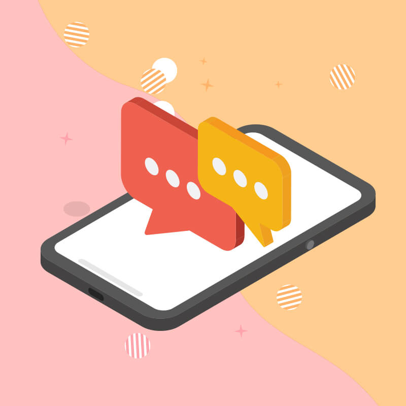 Inbound Communication through-2 Way Messaging