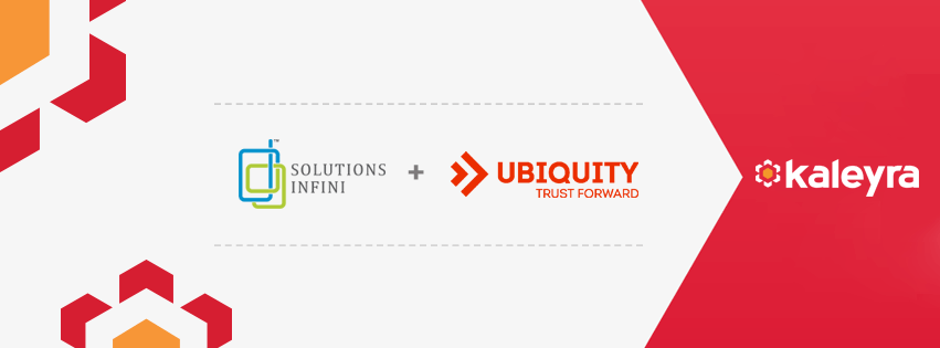 Solutions Infini and Ubiquity merge and rebrand into Kaleyra
