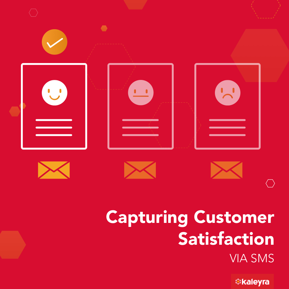 Capturing Customer Satisfaction Via SMS