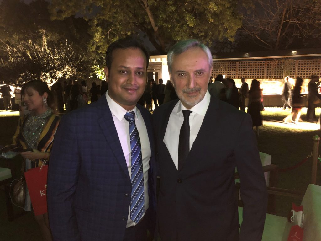 Kaleyra celebrates Italian National Day in New Delhi at the Italian Embassy