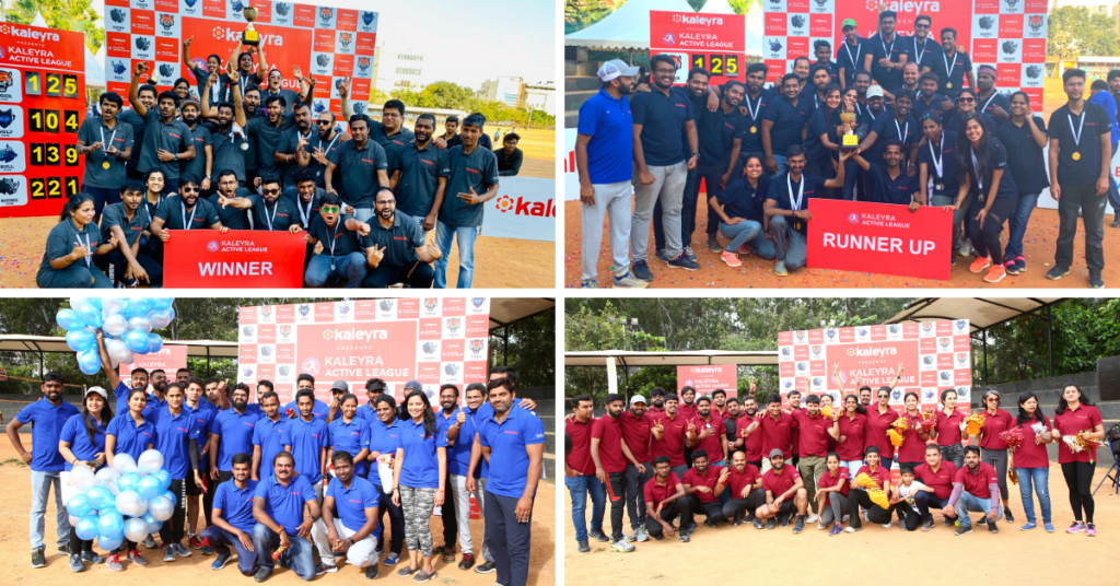Meet our teams and the winners