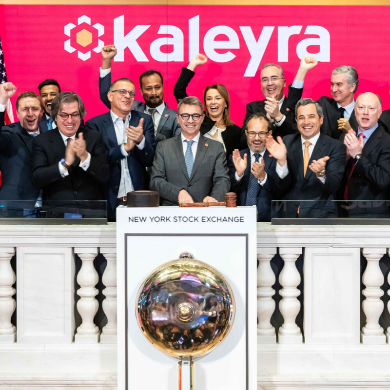 Kaleyra Rings Bell to Celebrate NYSE Listing