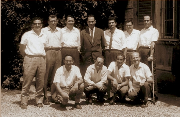 Engineers of Barbaricina, Olivetti Elea 9003 team, Simone Fubini