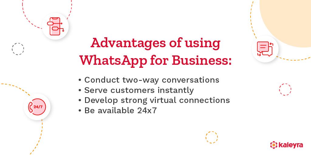WhatsApp Business API Benefits
