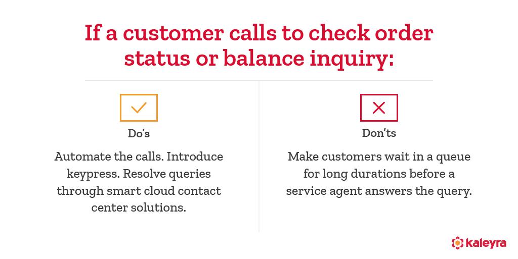 Do's and Don'ts of customer service productivity