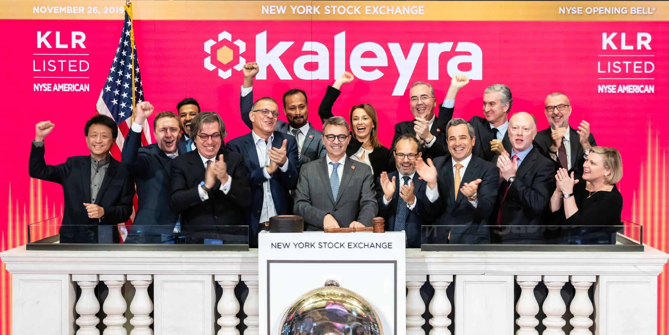 Kaleyra NYSE listing