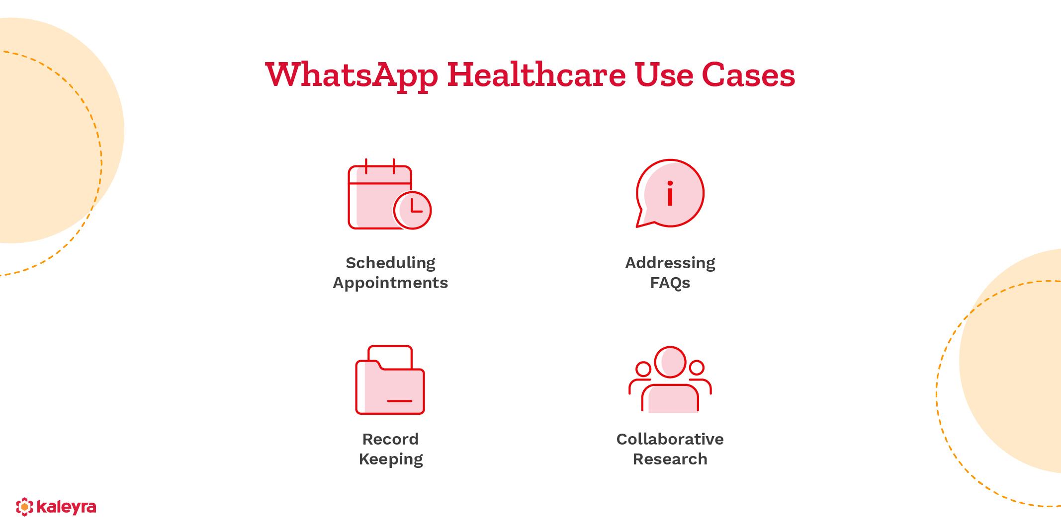 WhatsApp Business API for healthcare