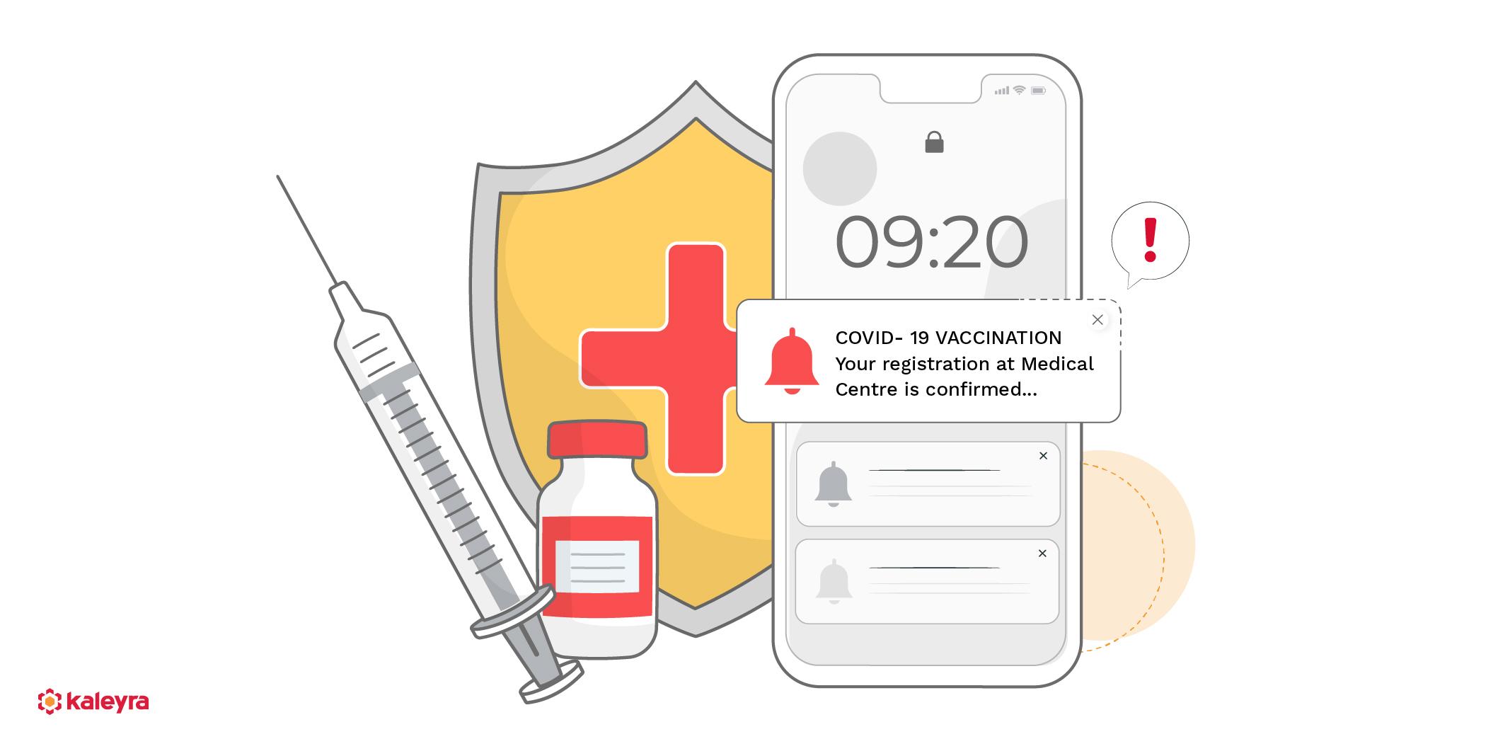 Cloud Communication for Coronavirus Vaccination