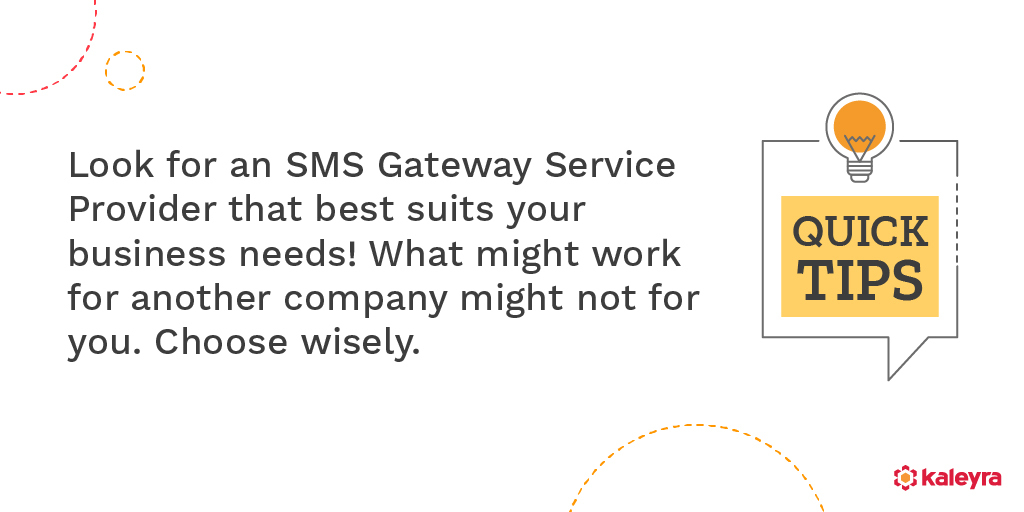 How to choose the best SMS Service Provider