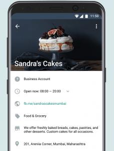 WhatsApp e-commerce integration - Business Profile